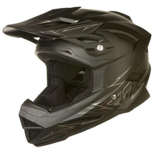 Picture of Fly Racing Default Helmet - Black Matt 2015