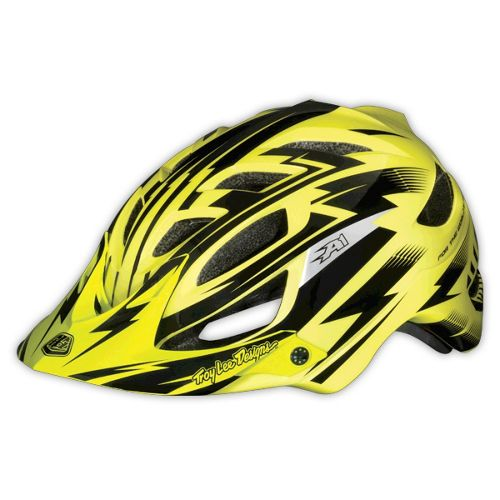 Picture of Troy Lee Designs A1 Helmet - Gloss Yellow