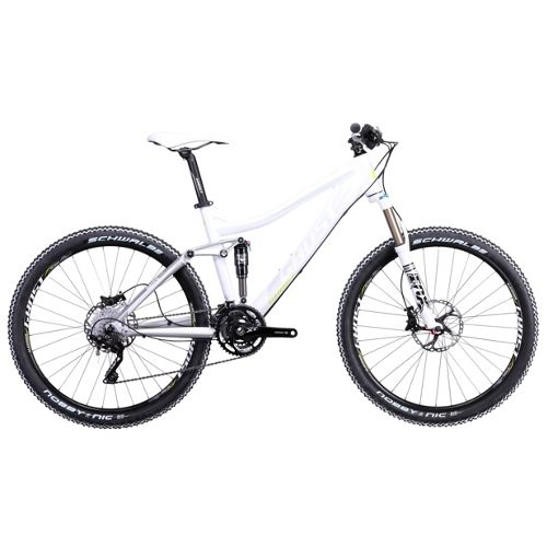Picture of Ghost MISS AMR 7500 Womens Suspension Bike 2014