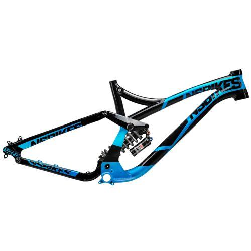 Picture of NS Bikes Fuzz Frame - Rock Shox Vivid R2C 2014