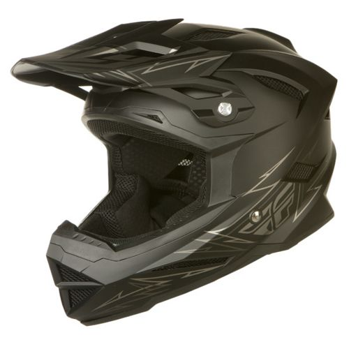Picture of Fly Racing Default Youth Helmet - Matte Black 2014