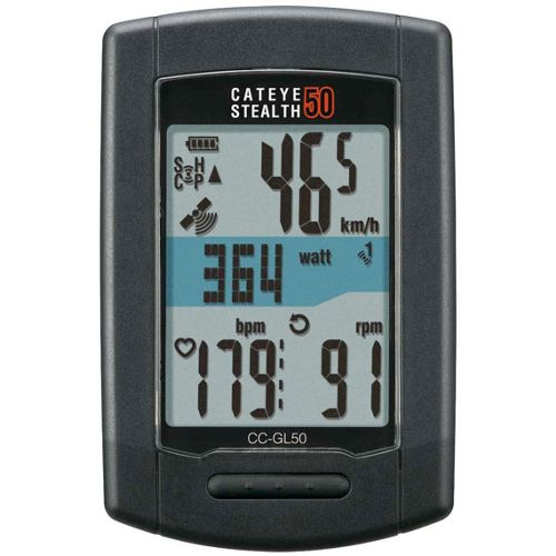 Picture of Cateye Stealth 50 GPS Cycle Computer ANT +