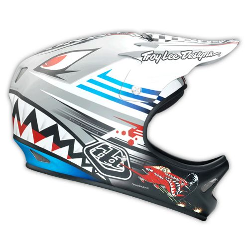 Picture of Troy Lee Designs D2 Helmet - P51 Grey 2014