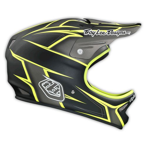 Picture of Troy Lee Designs D2 Helmet - Turbo Grey 2014