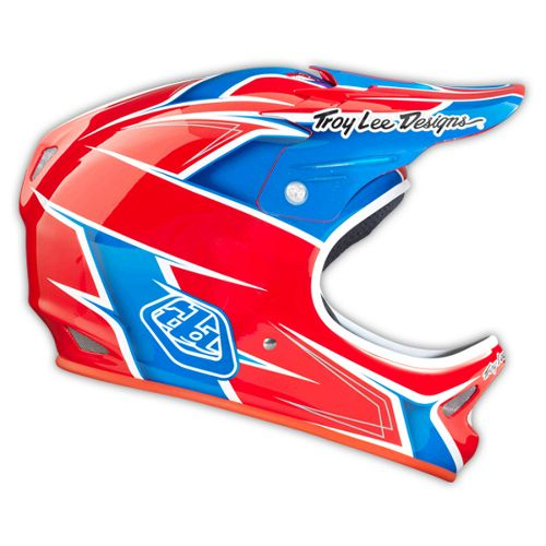Picture of Troy Lee Designs D2 Helmet - Turbo Red 2014