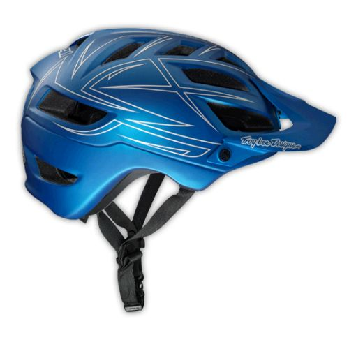 Picture of Troy Lee Designs A1 Helmet - Pinstripe Blue 2014