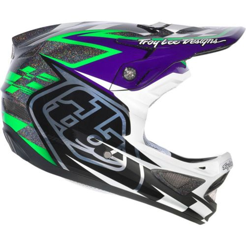 Picture of Troy Lee Designs D3 Team Helmet - Black Green