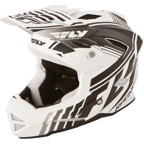 Picture of Fly Racing Default Helmet - Matt White - Black 2015