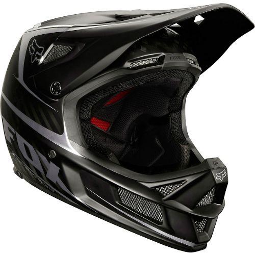 Picture of Fox Racing Rampage Pro Carbon Helmet - Matt Black 2014