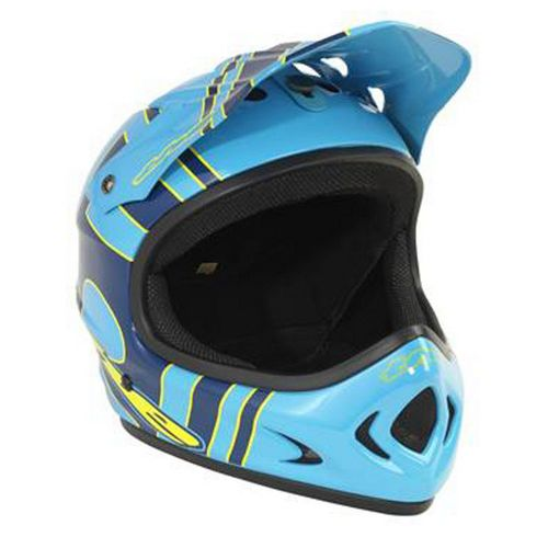 Picture of THE Point 5 Helmet - Slant Blue - Yellow 2014
