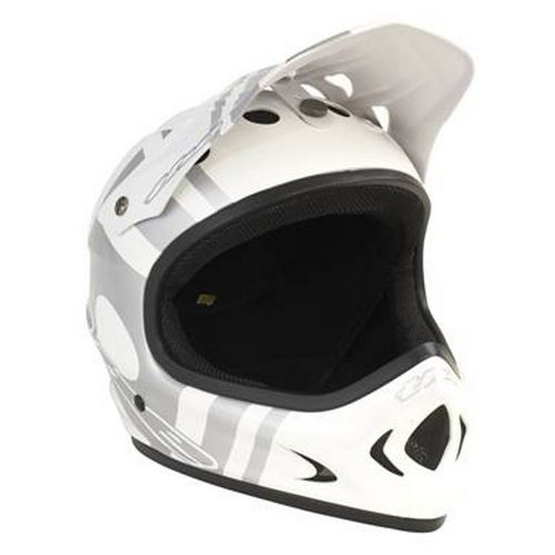 Picture of THE Point 5 Helmet - Slant White - Silver 2014