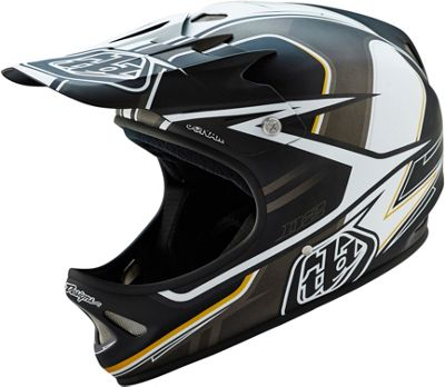 Troy Lee Designs D2 Helmet - Sonar Black ..