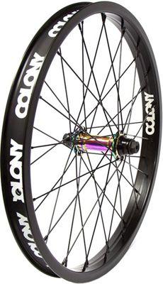 Colony Pintour Front BMX Wheel - Rainbow