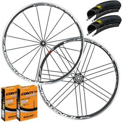 Campagnolo Shamal Ultra Wheelset Tyre & T..