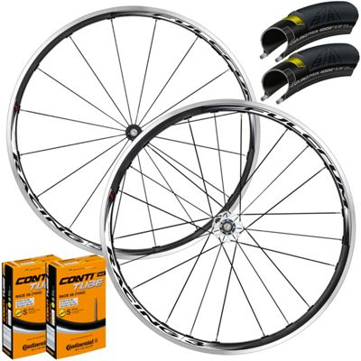 Fulcrum Racing 3 Wheelset Tyre & Tube Bun..