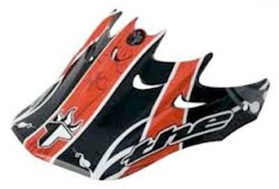 THE Replacement Visor - Vine Red 2009