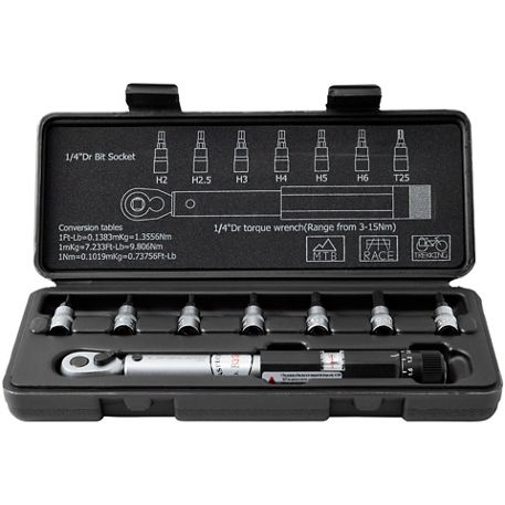 1ee82299b27 X-Tools Pro Torque Wrench and Bit Set