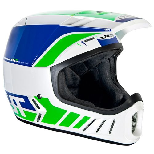 Picture of JT Racing ALS2 Full Face Helmet - White-Green