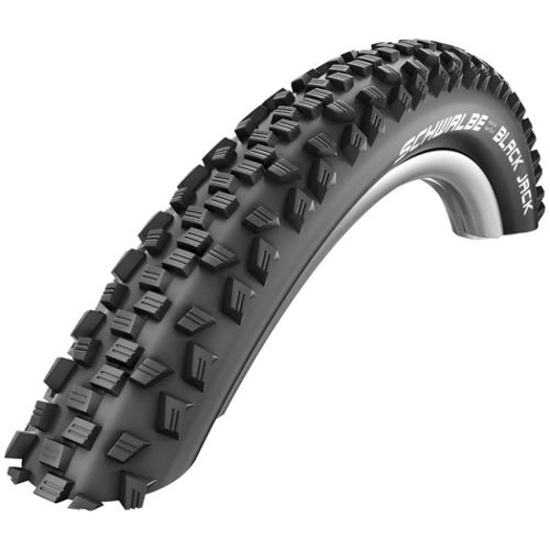 Picture of Schwalbe Black Jack Tyre - Puncture Protect