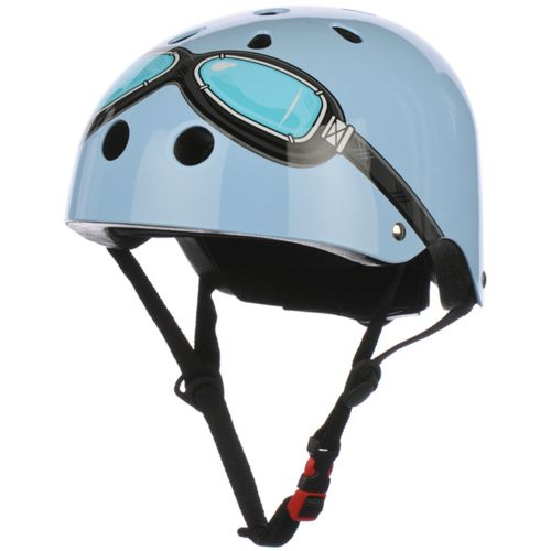 Picture of Kiddimoto Blue Goggle Helmet
