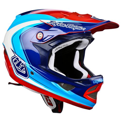 Picture of Troy Lee Designs D3 Composite - Mirage Blue