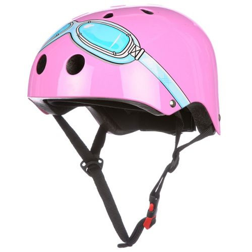 Picture of Kiddimoto Pink Goggle Helmet