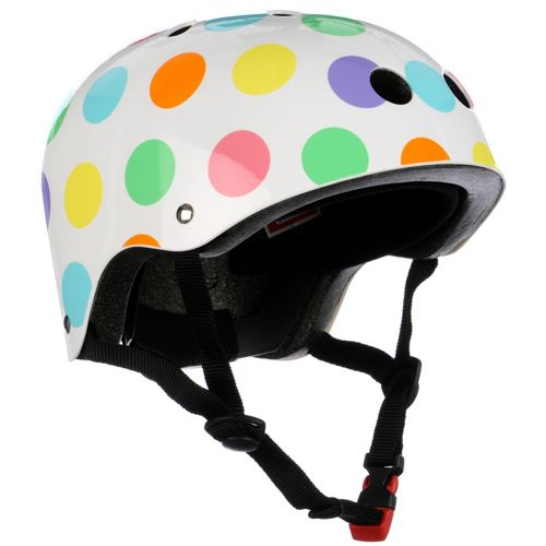 Picture of Kiddimoto Pastel Dotty Helmet