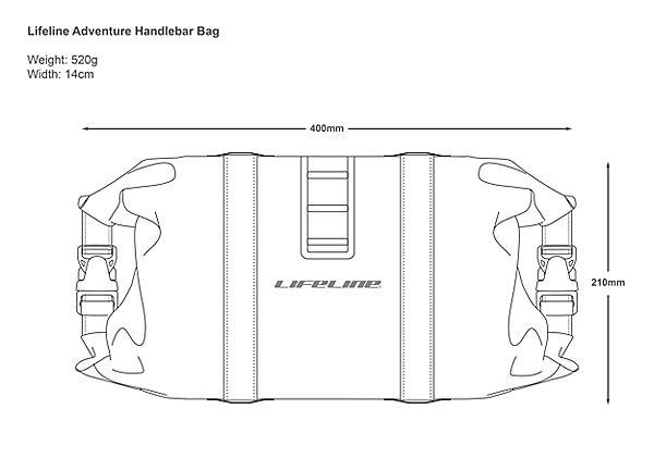 LifeLine Adventure Handlebar Bag