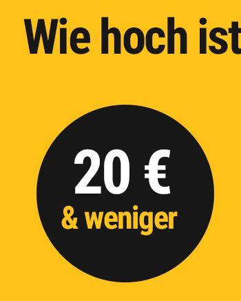 €20 & under