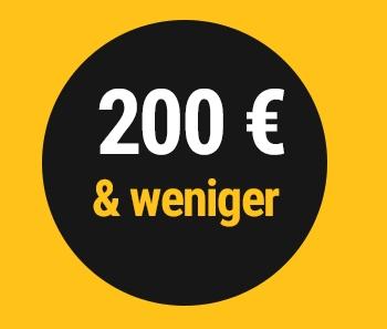 €200 & under