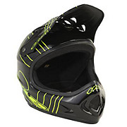 THE Point 5 Helmet - Slant Black - Green 2014