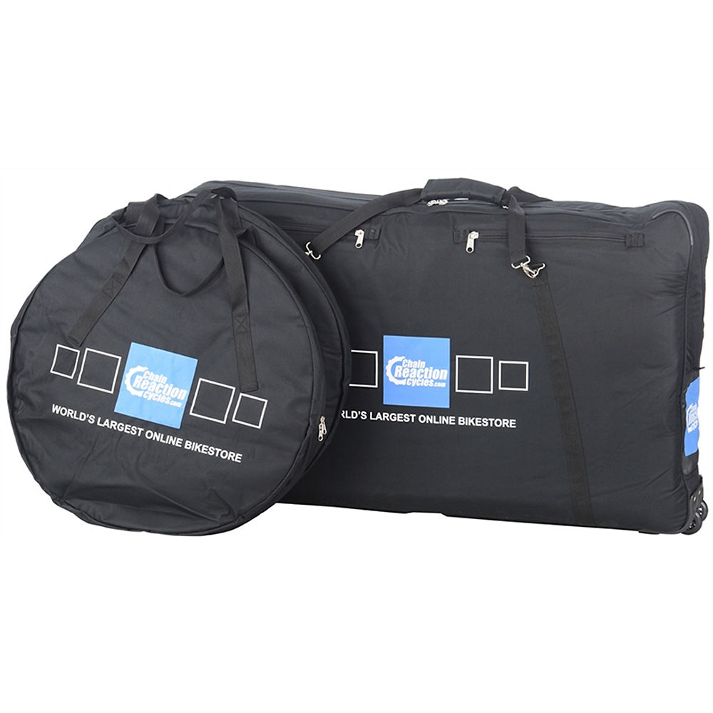 Chain Reaction Cycles Complete Bike & Wheel Bags  CRC Logo