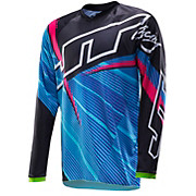 JT Racing Flex Youth Jersey - Blue-Green 2014