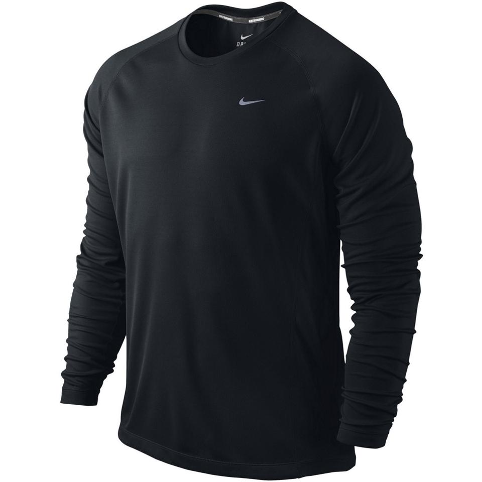 f5c31b62 Nike Miler Long Sleeve UV Jersey (Team) AW13 on PopScreen