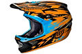 Troy Lee Designs D3 Carbon - Thunder Orange