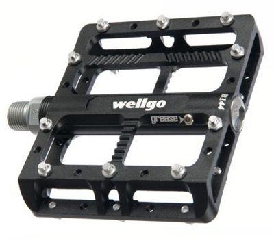 Pédales plates Wellgo CNC Platform B144