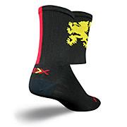 SockGuy SGX 6 Lion Gold Socks