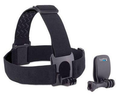 Fixation frontale et Quick Clip GoPro