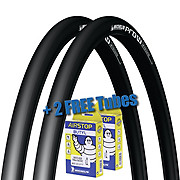 Michelin Pro4 Service Course Tyres & FREE Tubes