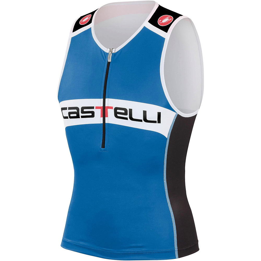 Camiseta sin mangas de triatlón Castelli Core SS16