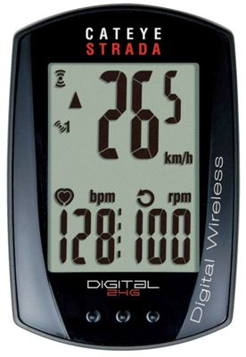 Compteur de vitesse et de cadence Cateye Strada numérique sans fil