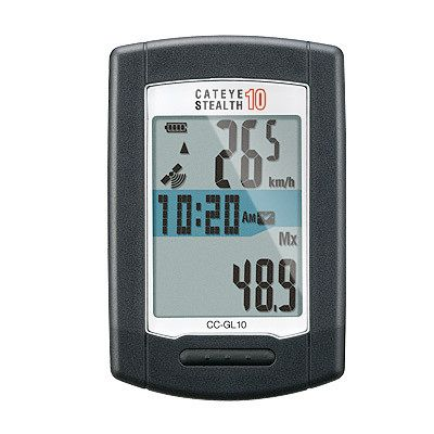 Compteur Cateye Stealth 10 GPS