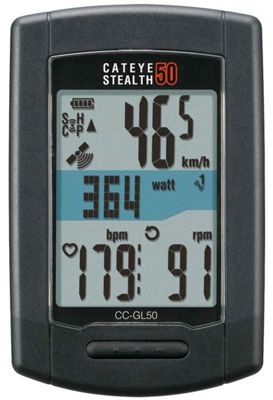 Compteur ANT + Cateye Stealth 50 GPS