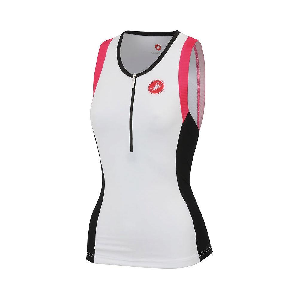 Camiseta de triatlón de mujer Castelli Free