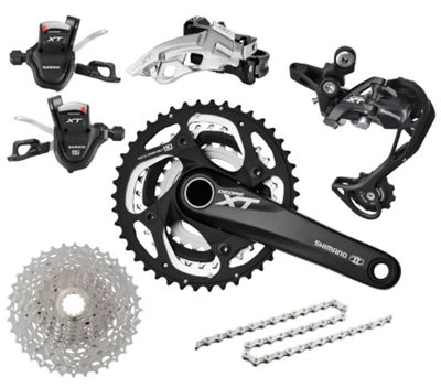 Groupe Complet triple Shimano XT M780