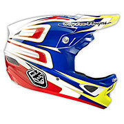 Troy Lee Designs D3 Composite - Speed Blue - White 2014