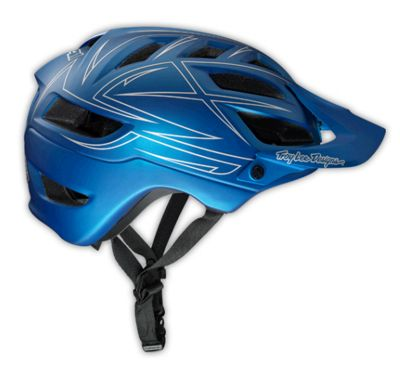 Casque Troy Lee Designs A1 - Pinstripe Blue - Bleu