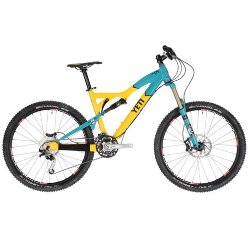 Yeti 575 Bike - Anniversary Edition 2011   Chain Reaction Cycles