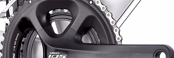 Shimano 105 11-speed crankset