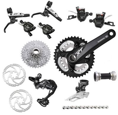 Groupe Complet Shimano XT M785 double 10 vitesses